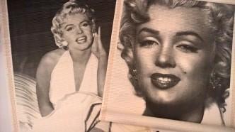 Marilyn -seinäkoristeita. Kirpparilöytöjä!