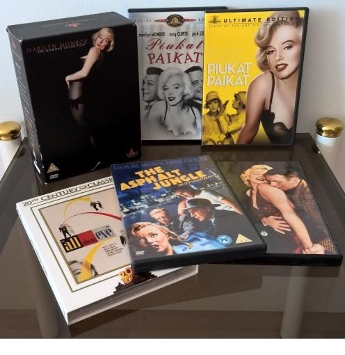 Joitakin elokuvia kokoelmastani.