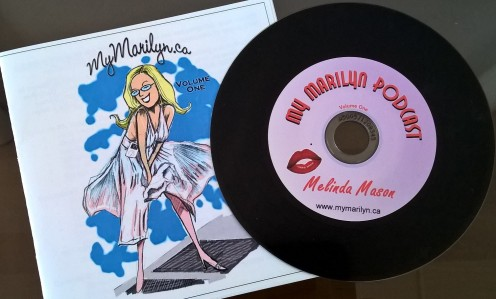 My Marilyn -podcast kokoelmalevy.