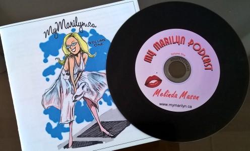 My Marilyn -podcast kokoelmalevy.