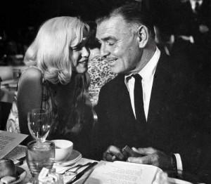 Marilyn ja Gable.