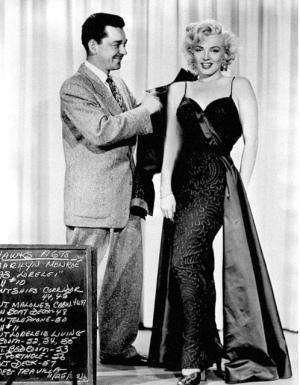 William Travilla ja Marilyn